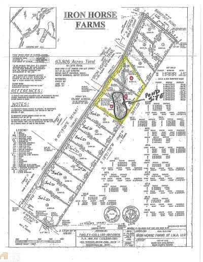 Lula  Residential Lots & Land For Sale: 567 Iron Horse Trl #5,6,7