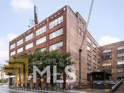 Giant Lofts Condo/Townhouse Under Contract: 426 Marietta St #210