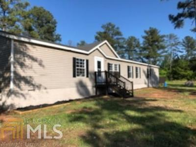 Monticello Single Family Home Under Contract: 1045 Oconee Forest