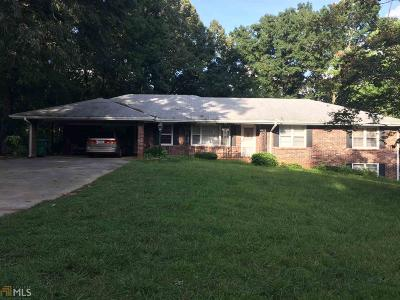 Lilburn Single Family Home For Sale: 110 Harmony Grove Rd