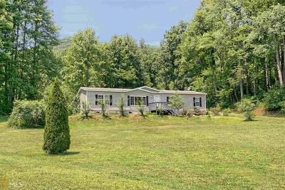 Hiawassee Single Family Home For Sale: 3662 Fodder Creek Rd #tr 1