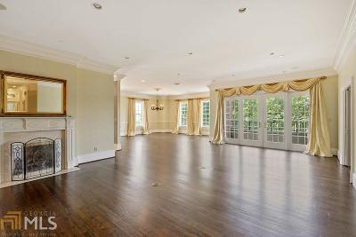 The Winston Condo/Townhouse For Sale: 3657 Peachtree Rd #4c