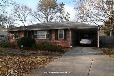 Decatur Single Family Home New: 2980 Pangborn Rd