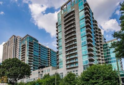 Metropolis Condo/Townhouse For Sale: 943 Peachtree St #1801