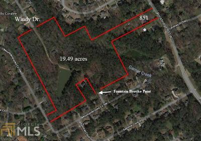 Stone Mountain Residential Lots & Land For Sale: 862 Windy Dr