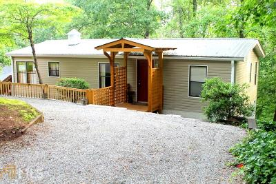 Toccoa Single Family Home For Sale: 262 Cardinal Ln