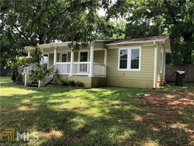 Dacula Single Family Home New: 605 Tanner Rd