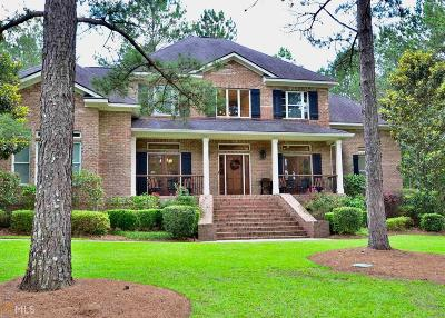 Statesboro Single Family Home For Sale: 1215 Plantation Cir