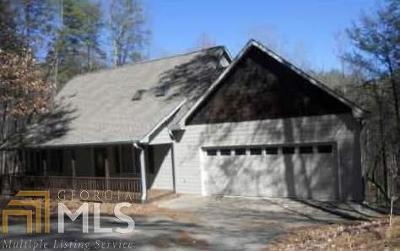 Sautee Nacoochee Single Family Home For Sale: 71 Hawks Nest
