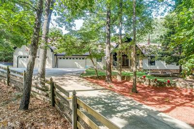 Dacula Single Family Home New: 3355 Old Peachtree