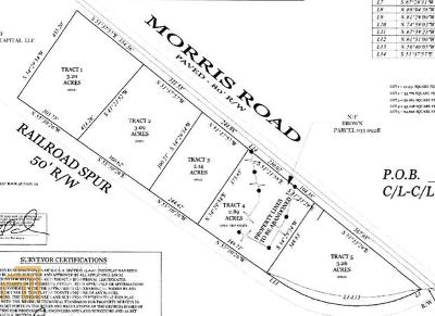 Madison Residential Lots & Land New: Morris Rd #2