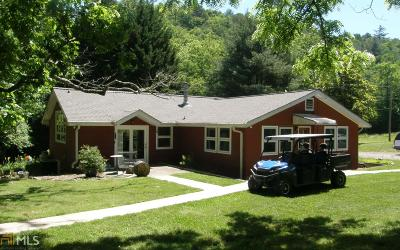 Hiawassee Single Family Home Under Contract: 3217 Fodder Creek Rd