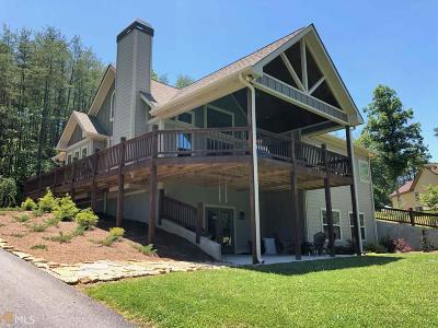 Hiawassee Single Family Home Under Contract: 104 Windjammer Dr