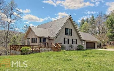 Blairsville Single Family Home For Sale: 144 Meadow Cir
