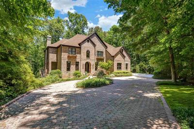 Alpharetta Single Family Home For Sale: 4810 Old Alabama Rd