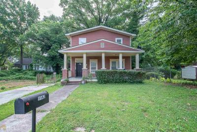 Oakland City Single Family Home Under Contract: 1142 Princess