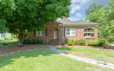 Hart County Single Family Home For Sale: 220 Athens St