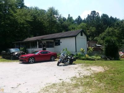 Coweta County Single Family Home For Sale: 1582 Luther Bailey Rd #TRACT 2