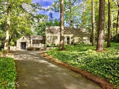 Buckhead Single Family Home For Sale: 3957 Ivy Rd
