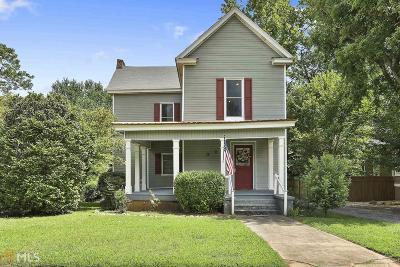 Barnesville Single Family Home New: 608 Greenwood St