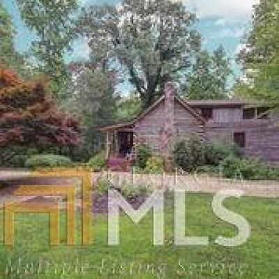 Cumming Single Family Home For Sale: 7400 Cox