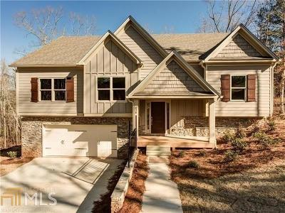 Ball Ground Single Family Home Under Contract: 420 Marion Spence Rd