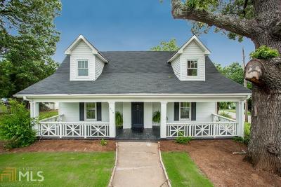 Buford Single Family Home New: 509 W Shadburn Ave