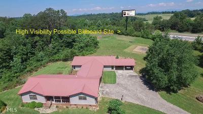 Demorest Single Family Home New: 1443 E Mize Rd