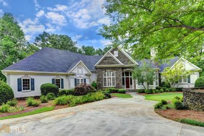 Alpharetta, Milton, Roswell Single Family Home For Sale: 4410 Old Wesleyan Woods