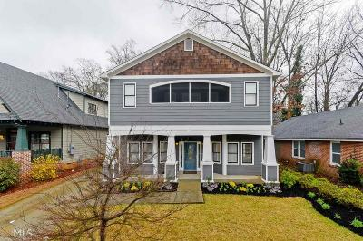 Atlanta Single Family Home New: 87 NE Lakeview Dr