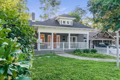 Virginia Highland Single Family Home For Sale: 970 N Highland Ave
