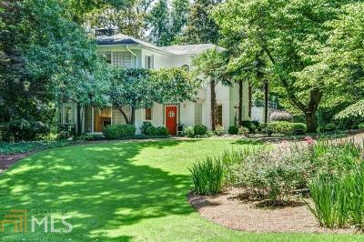 Buckhead Single Family Home For Sale: 1020 W Wesley Rd