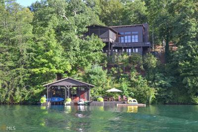 Rabun County Single Family Home For Sale: 890 Murray Cove Rd