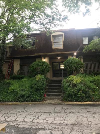Dekalb County Condo/Townhouse For Sale: 3074 Parc Lorraine