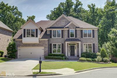 Suwanee Single Family Home New: 5245 Habersham Hills Dr