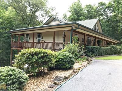 Sautee Nacoochee Single Family Home New: 685 Panorama Dr