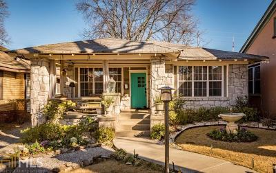 Old Fourth Ward Single Family Home For Sale: 509 Parkway Dr