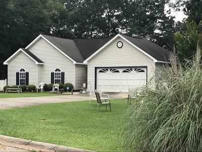 Barnesville Single Family Home New: 109 Carriage Trce