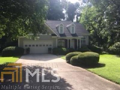 Griffin Single Family Home New: 64 E Terracedale Ct