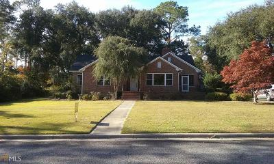 Statesboro Single Family Home For Sale: 403 College Blvd