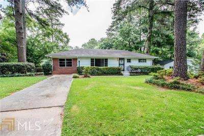 Fulton County Single Family Home For Sale: 386 Lindbergh Dr
