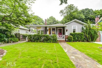 Atlanta Single Family Home New: 980 Rawlins