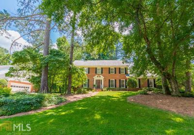 Atlanta Single Family Home New: 6716 Winters Hill Ct