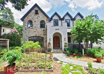Atlanta Single Family Home New: 1609 Johnson Rd