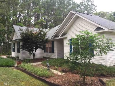 Brooklet GA Single Family Home New: $165,000