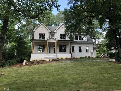 Atlanta Single Family Home New: 3026 NE W Roxboro Rd
