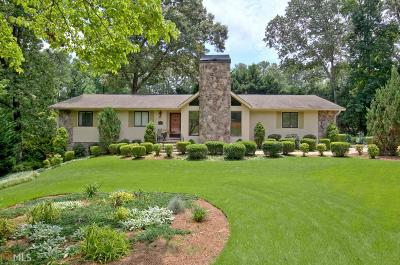 Peachtree City Single Family Home For Sale: 103 Melrose Ct