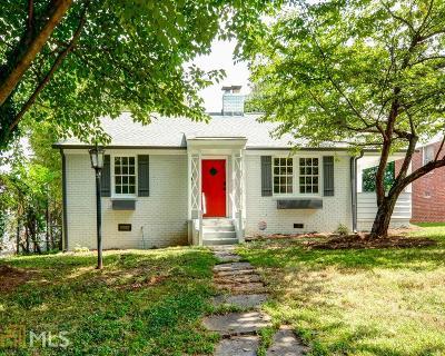 Atlanta Single Family Home New: 383 Ashley Ave