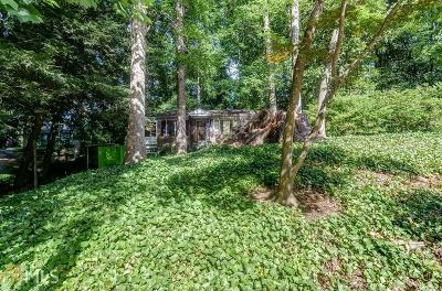 Buckhead Single Family Home For Sale: 3939 Ivy Rd