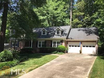 Atlanta Single Family Home New: 3567 Wood Valley Ct